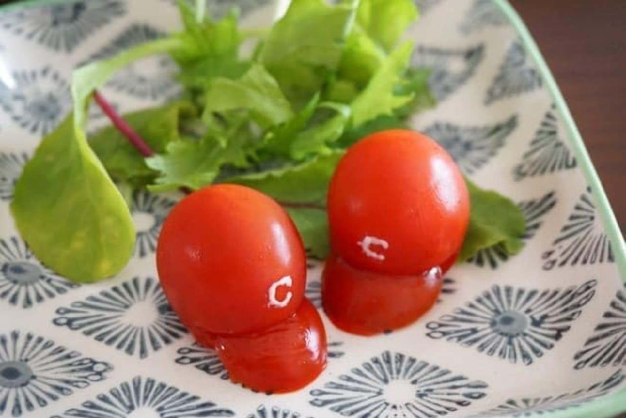 赤ヘルのミニトマト