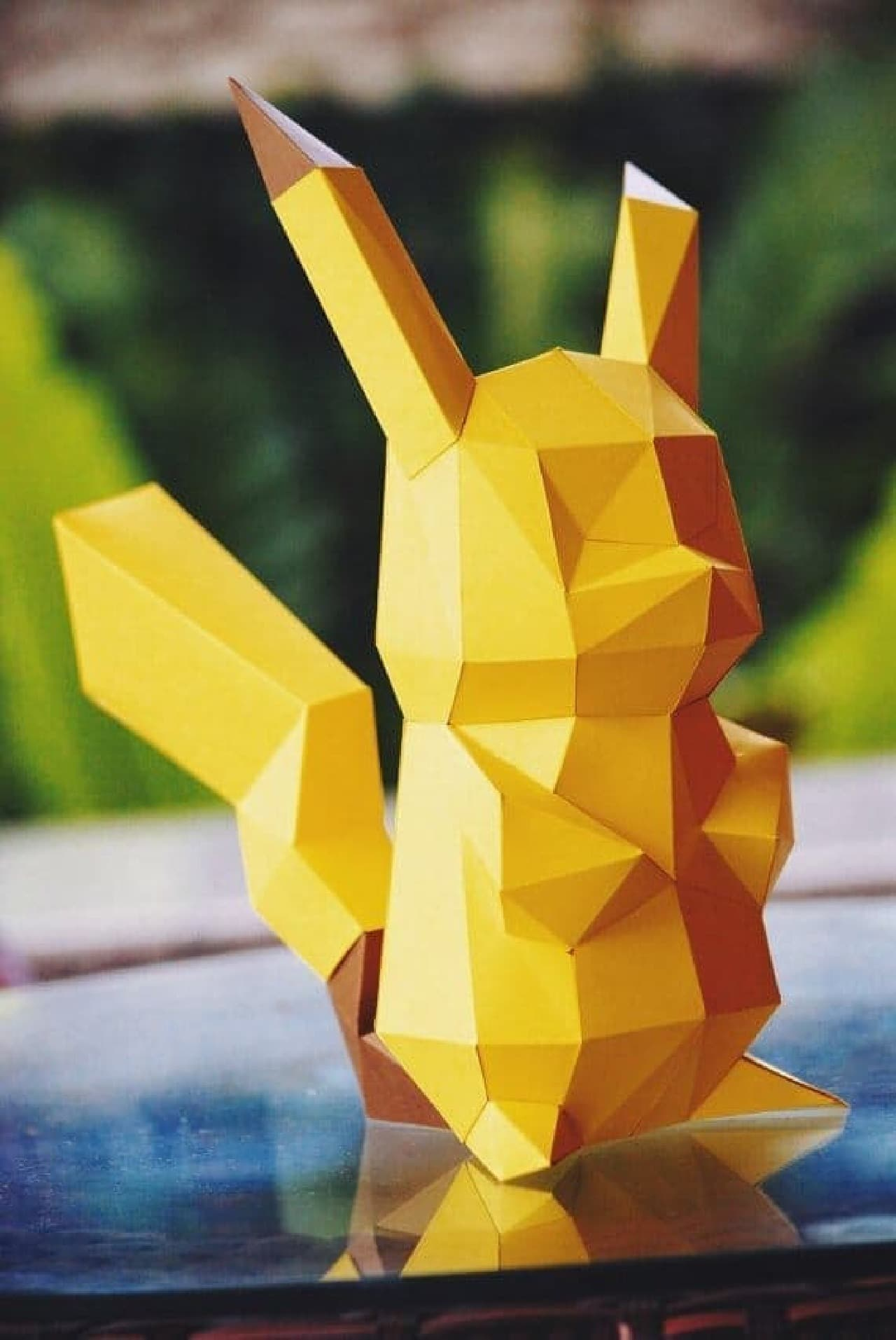 ペーパークラフトで作るポケモン「Paper craft DIY Pikachu」