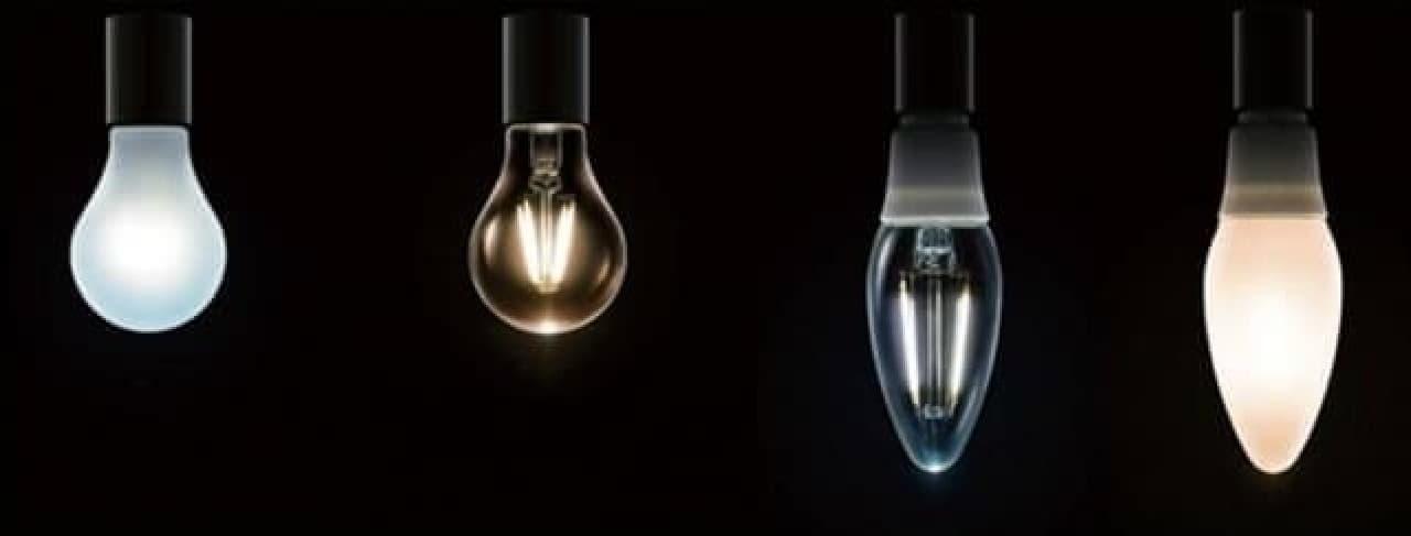 アイリスオーヤマ「LEDフィラメント電球」