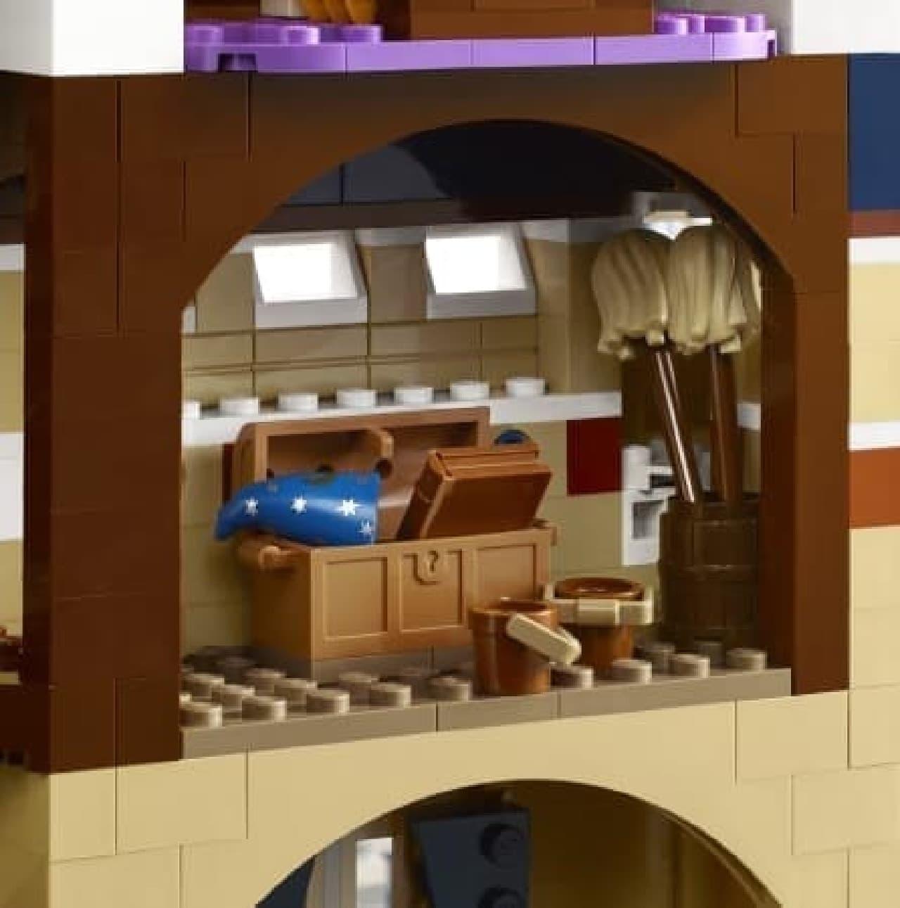 レゴ ディズニー キャッスル