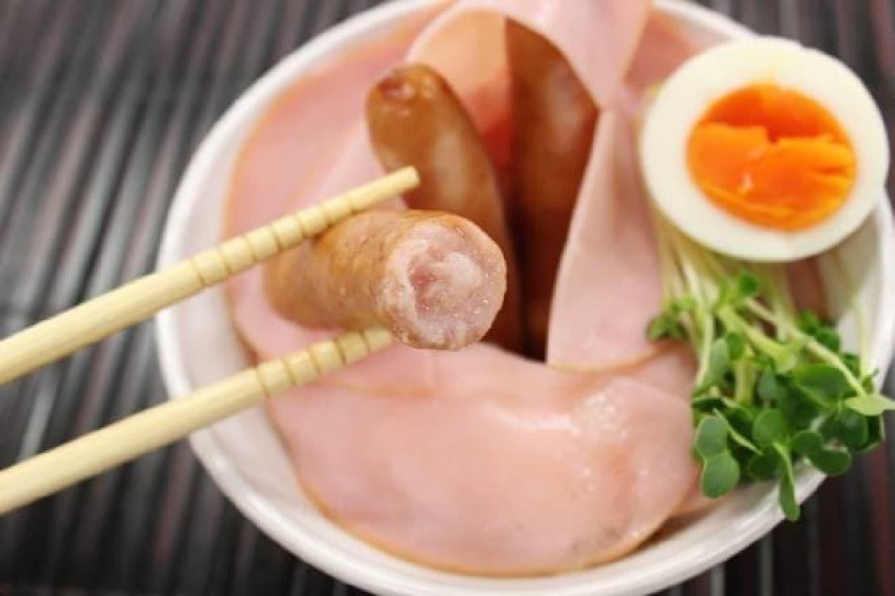日本ハム「彩りキッチン ロースハム」