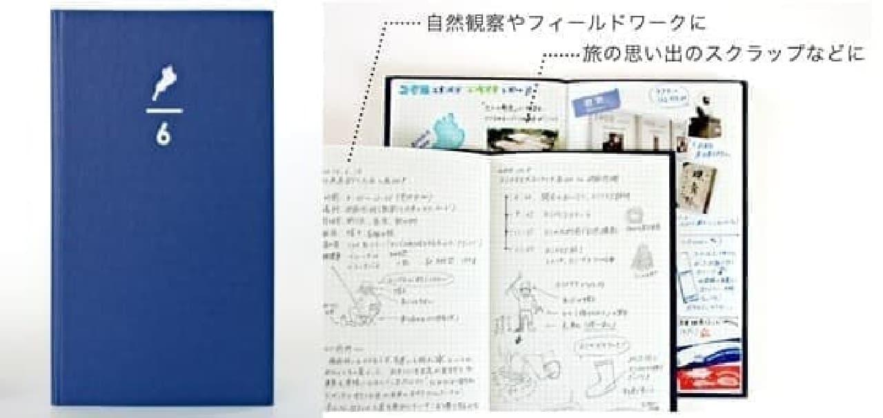 コクヨ工業滋賀「ロクブンノイチ野帳」