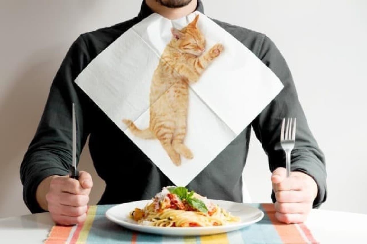suck uk「CAT NAPKINS」