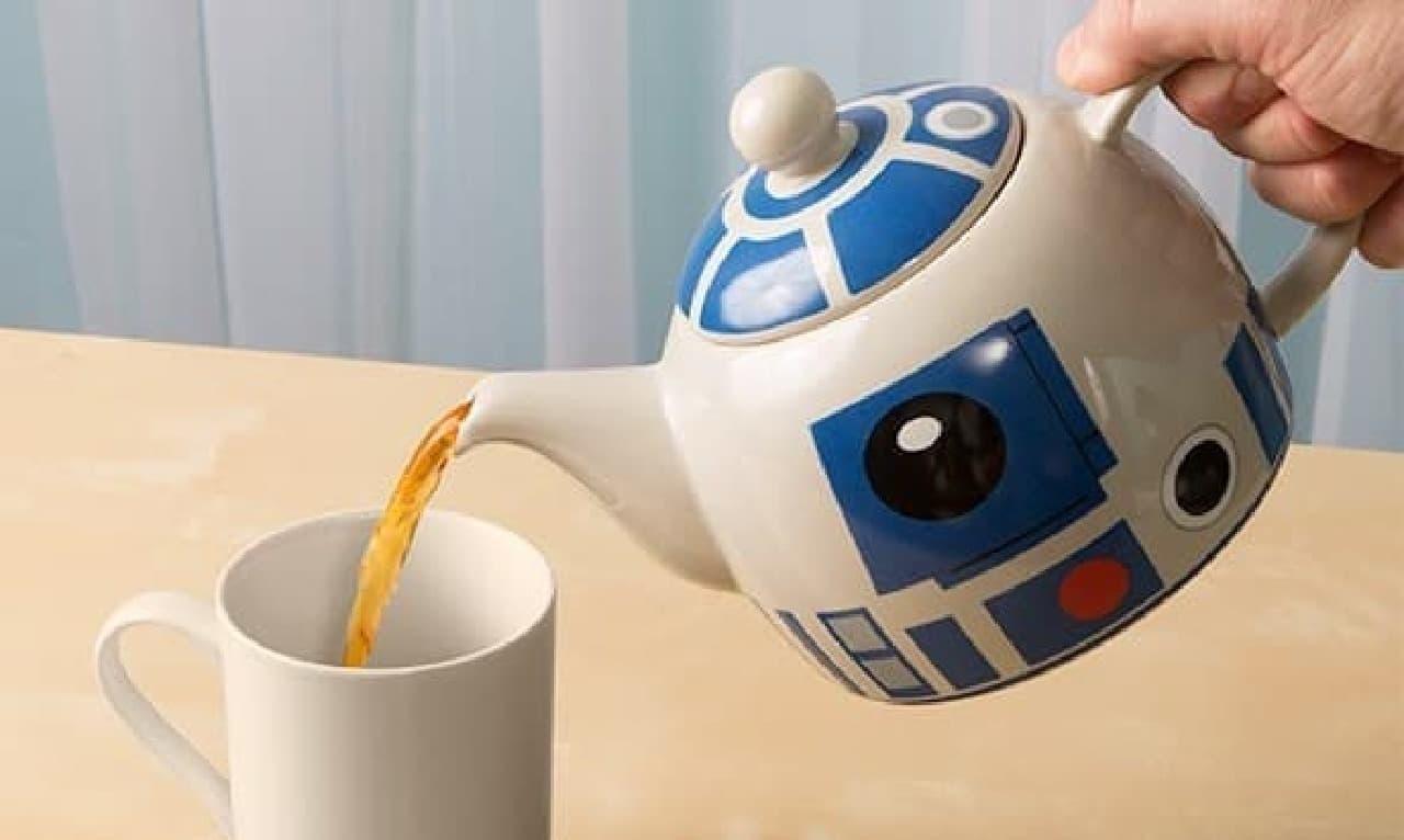 R2-D2が珈琲や紅茶をサーブ…「Star Wars R2-D2 Coffee Press」