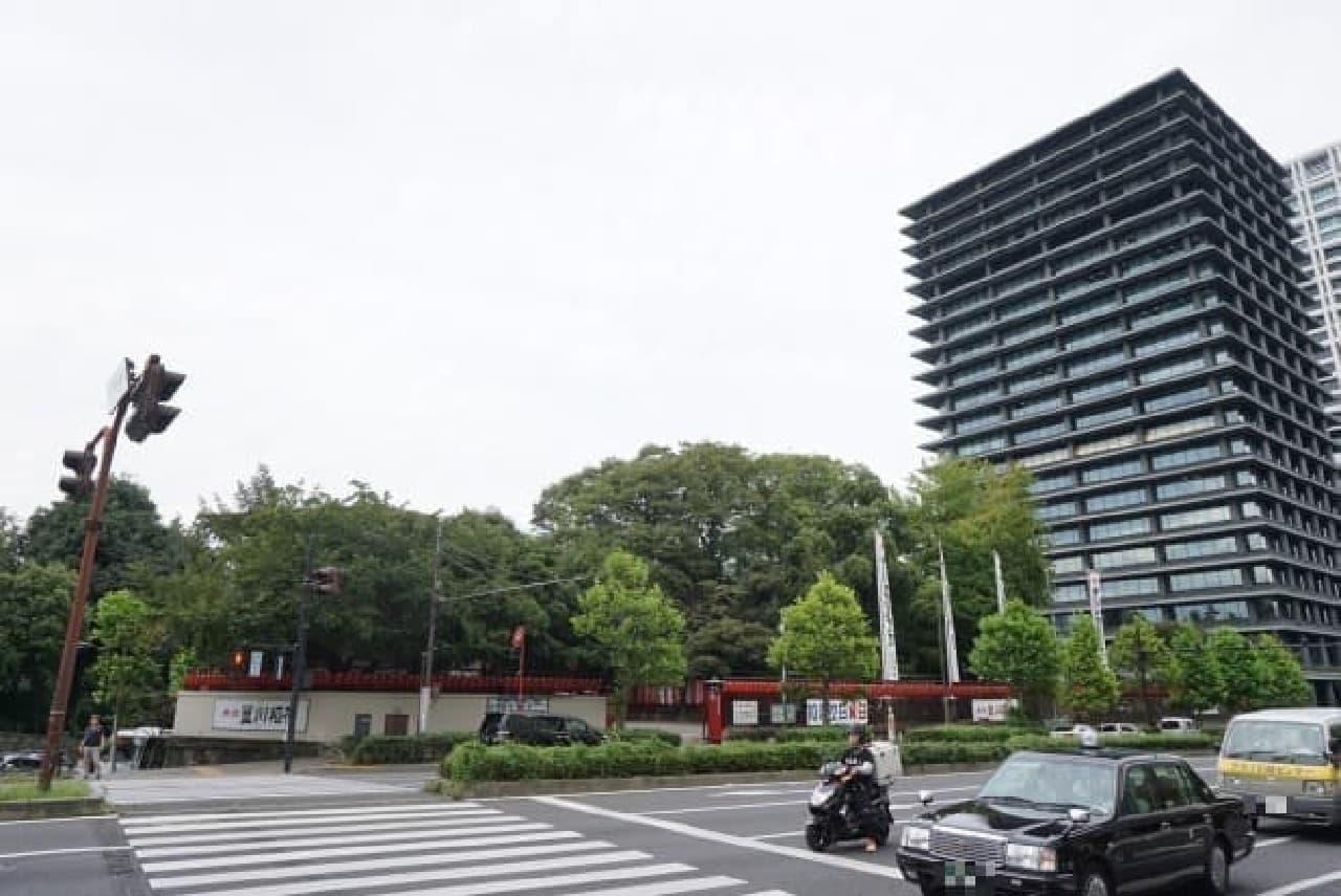 赤坂豊川稲荷周辺
