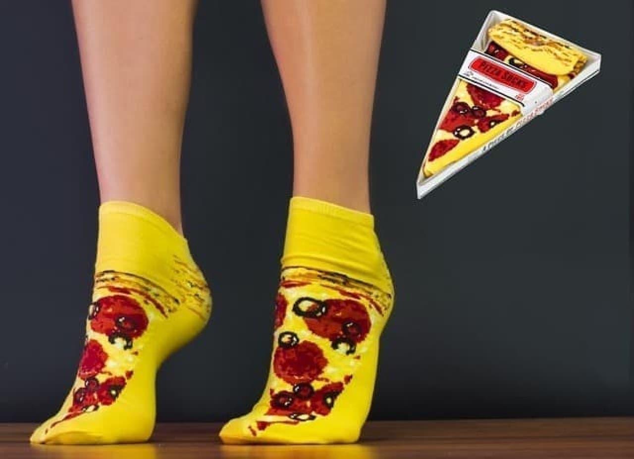 足元をファストフードが彩る「Fast Food Socks(ファストフードソックス)」