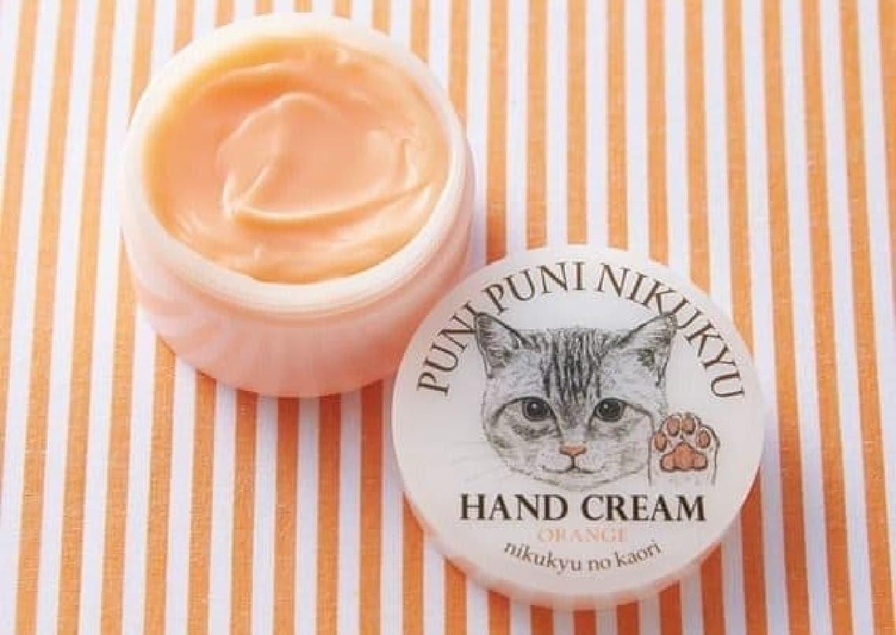 「猫の肉球の香りハンドクリーム」に新色追加!