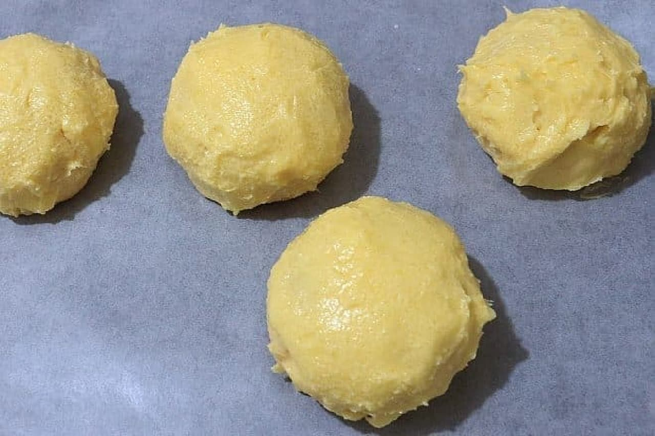 クリームパンでメロンパントースト