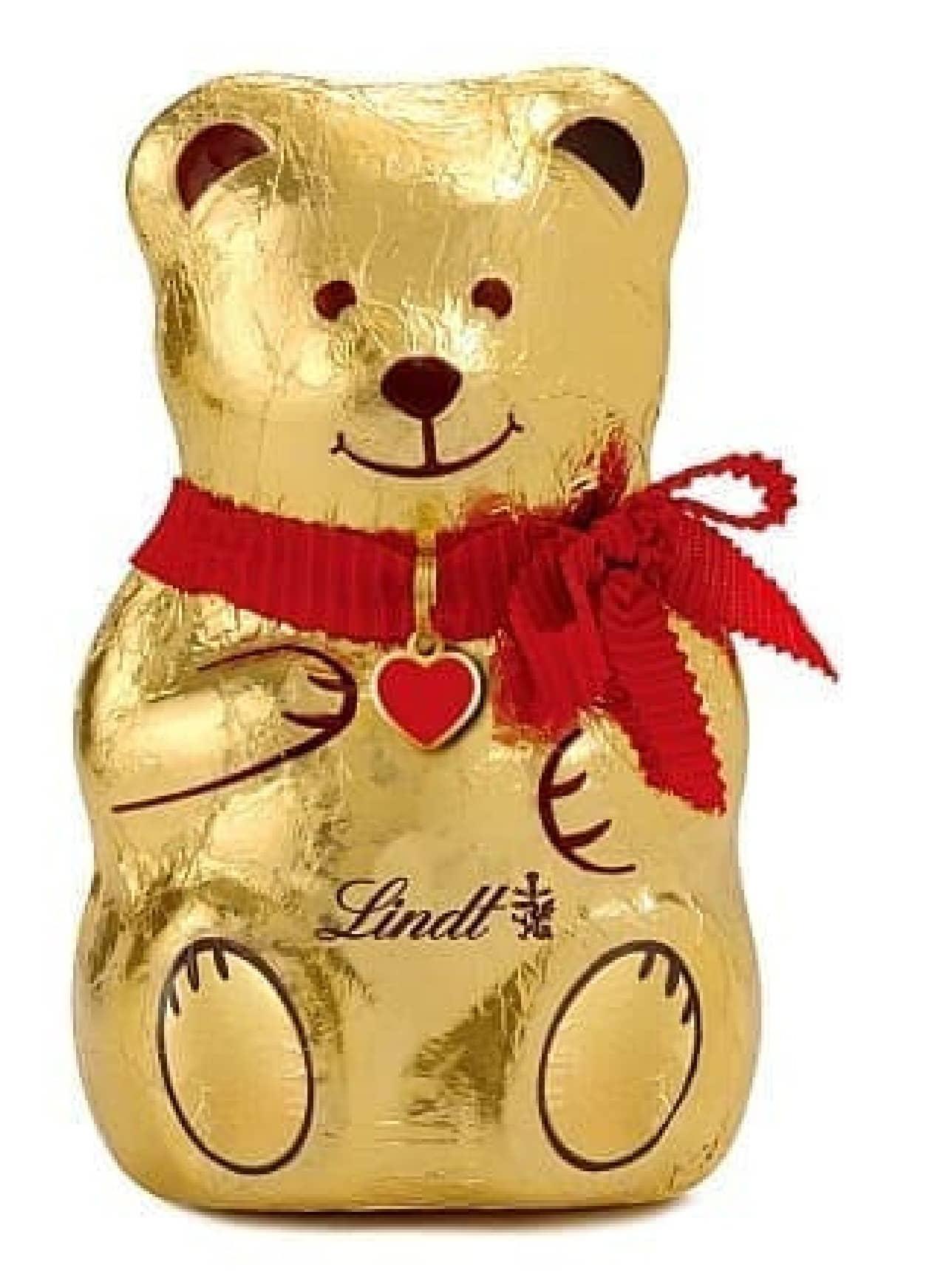 リンツのクリスマス向け商品「リンツテディ」