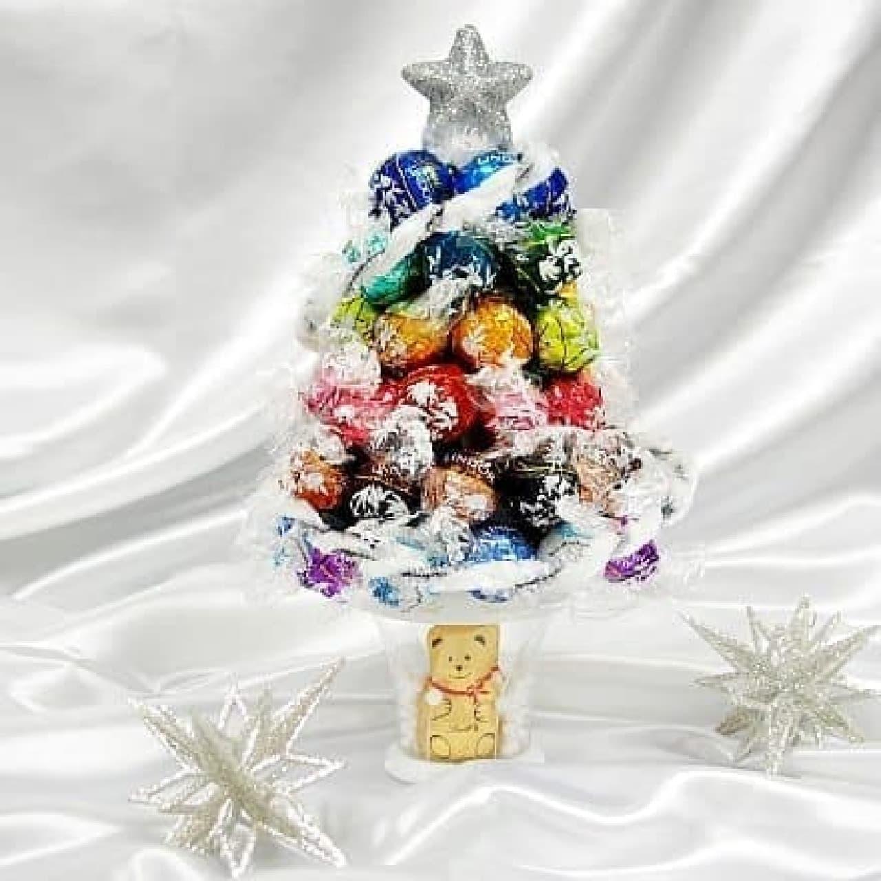 リンドールで作ったクリスマスツリー