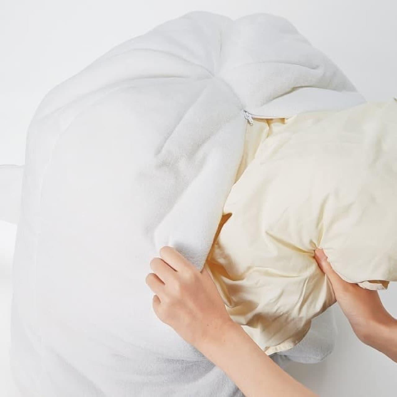 布団収納アイテム「オバケと暮らす布団収納ケース」