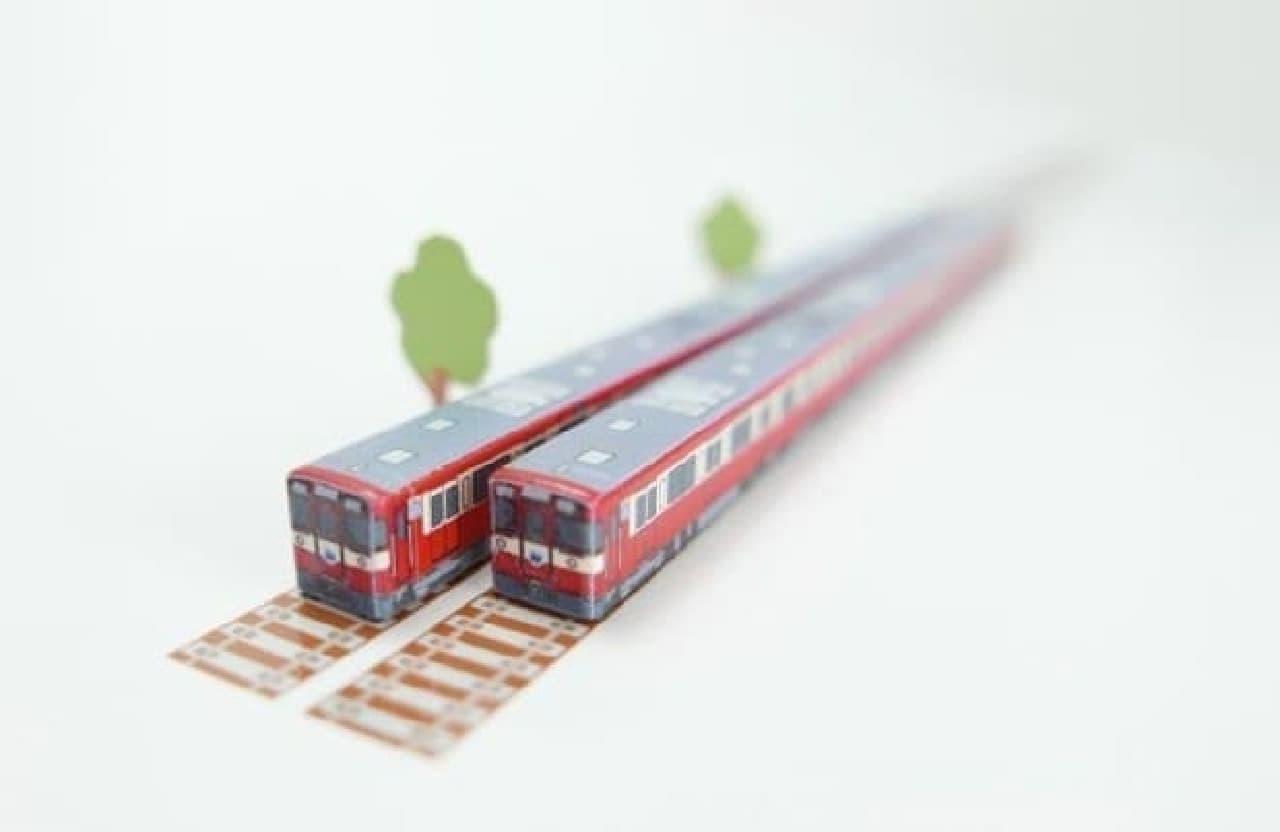 西武鉄道「ハシ鉄9000系 RED LUCKY TRAIN」