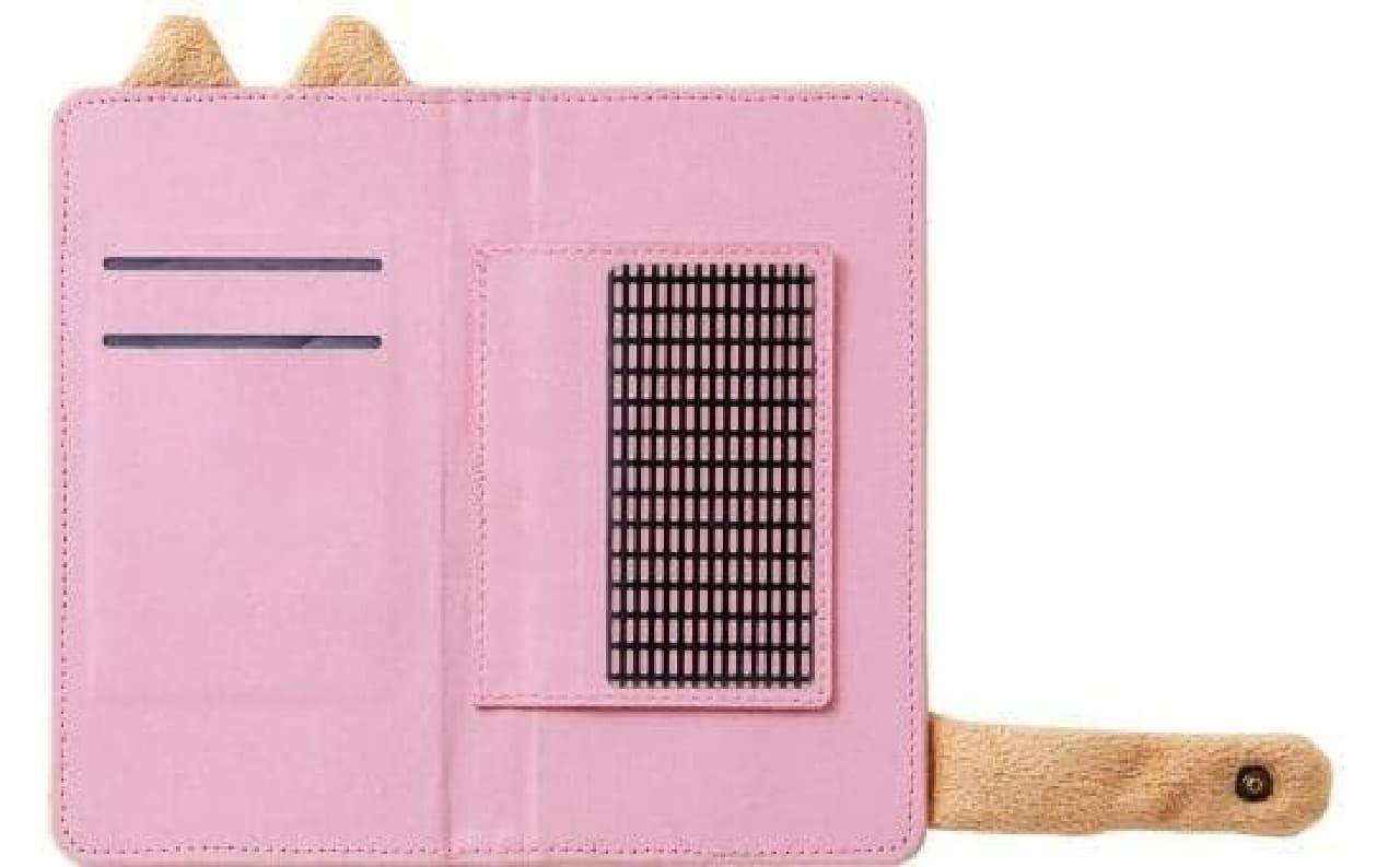 猫しっぽマフラー スマートフォンカバー」、フェリシモ猫部から