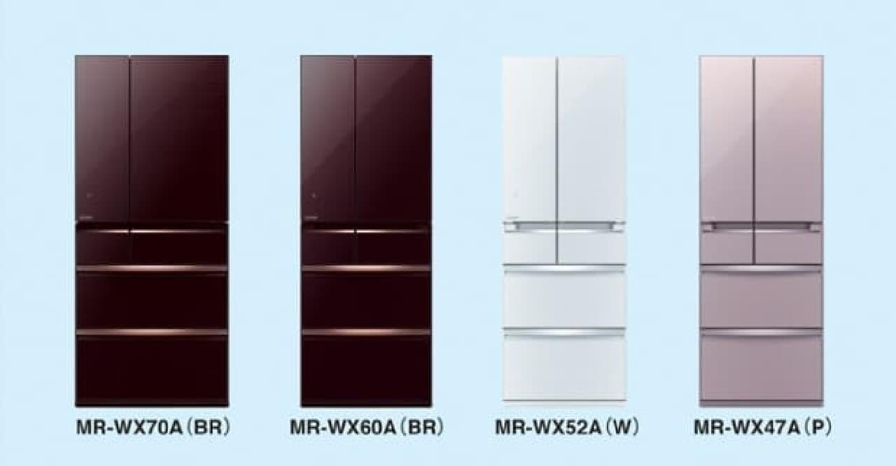 三菱電機の冷蔵庫