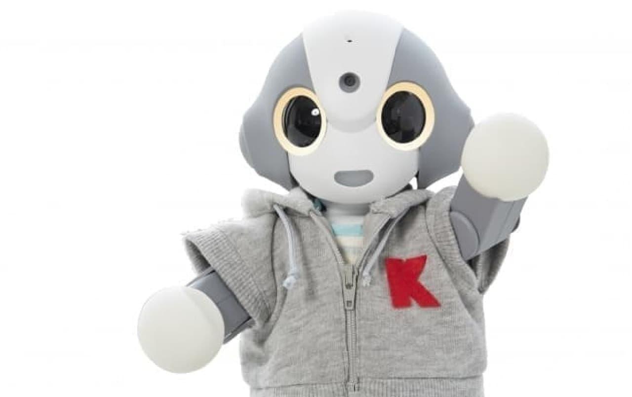 コミュニケーションロボット「Kibiro」