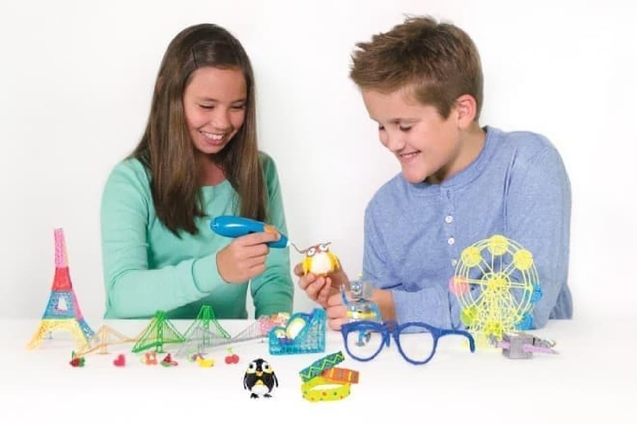 子ども向け3Dプリントペン「3Doodler Start」