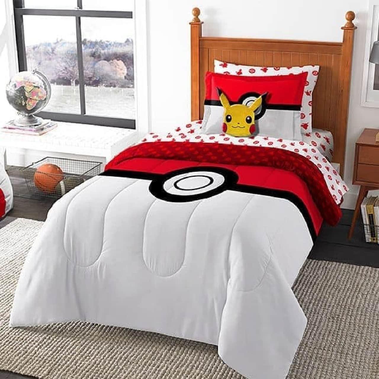 ポケモンGOモチーフのベッドシーツセット「Pokemon Bed-In-A-Bag」