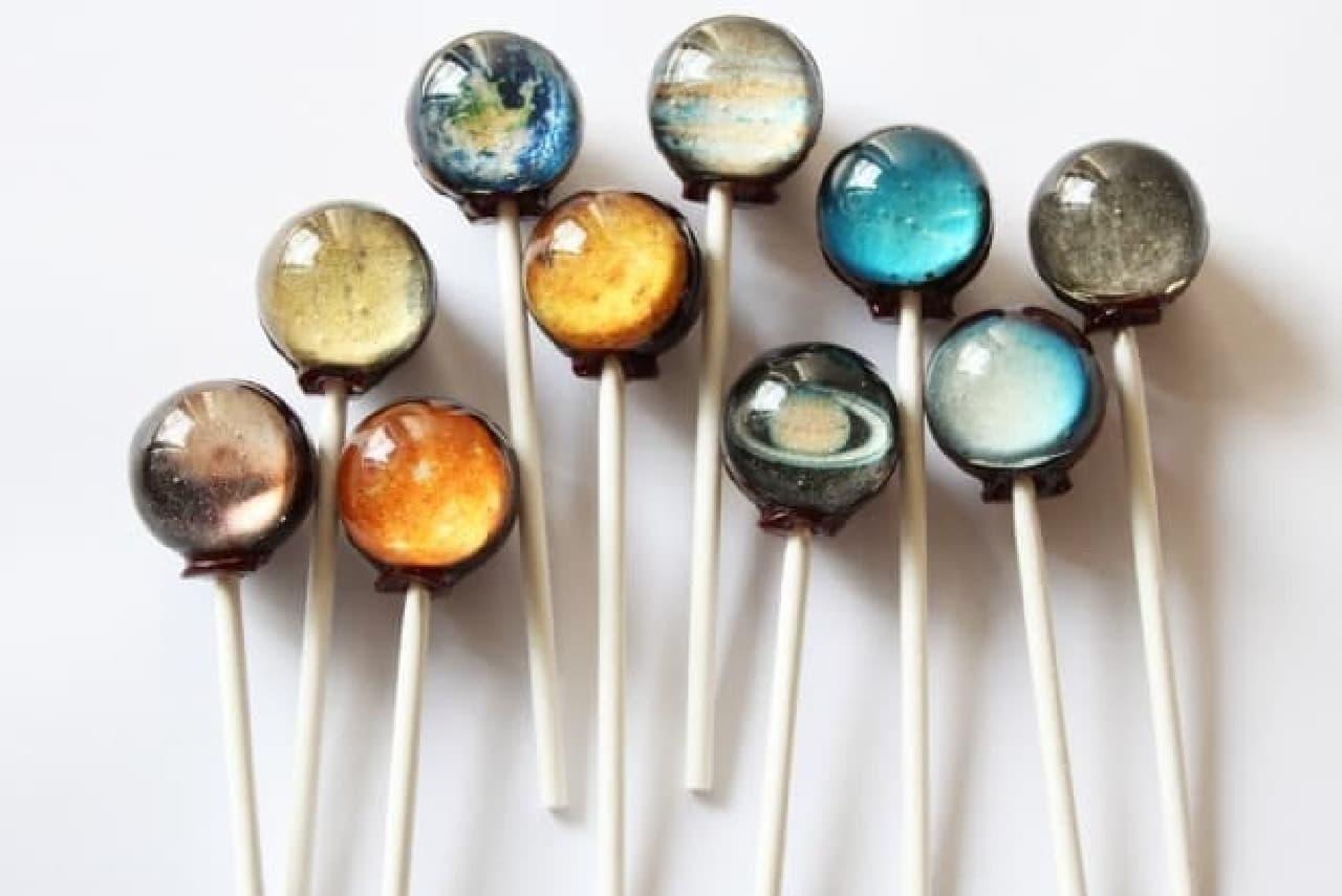 Vintage Confections「惑星キャンディー」