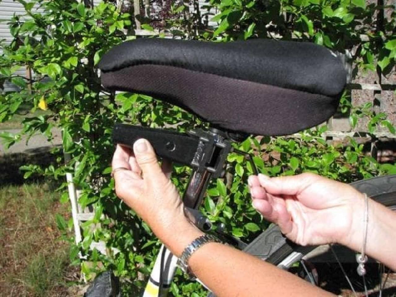 犬専用自転車シート「Buddyrider」