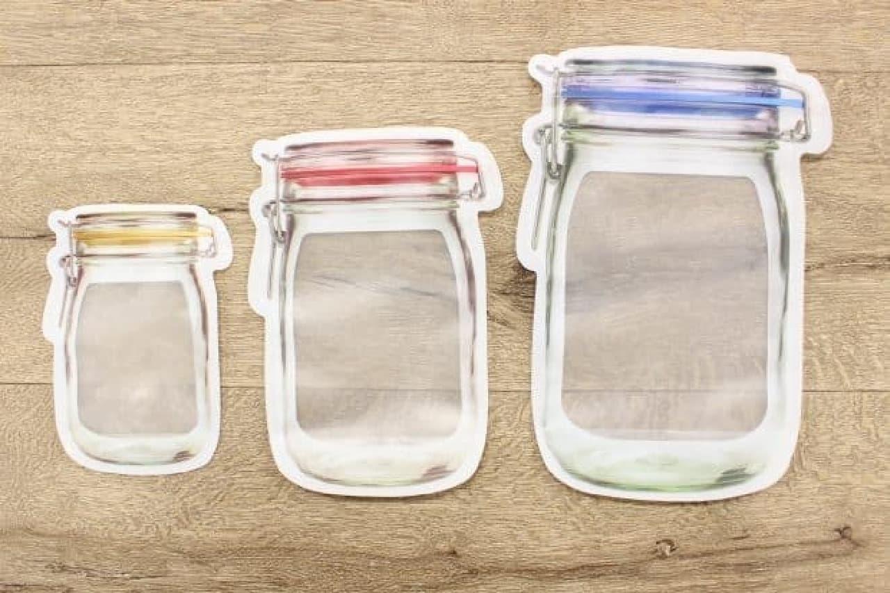 キッカーランド ガラスジャージッパーバッグ