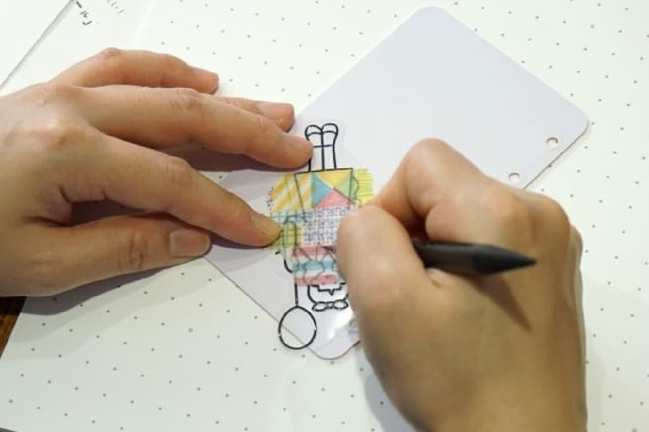 キングジム、マスキングテープで作るシールキット「マスリエ」