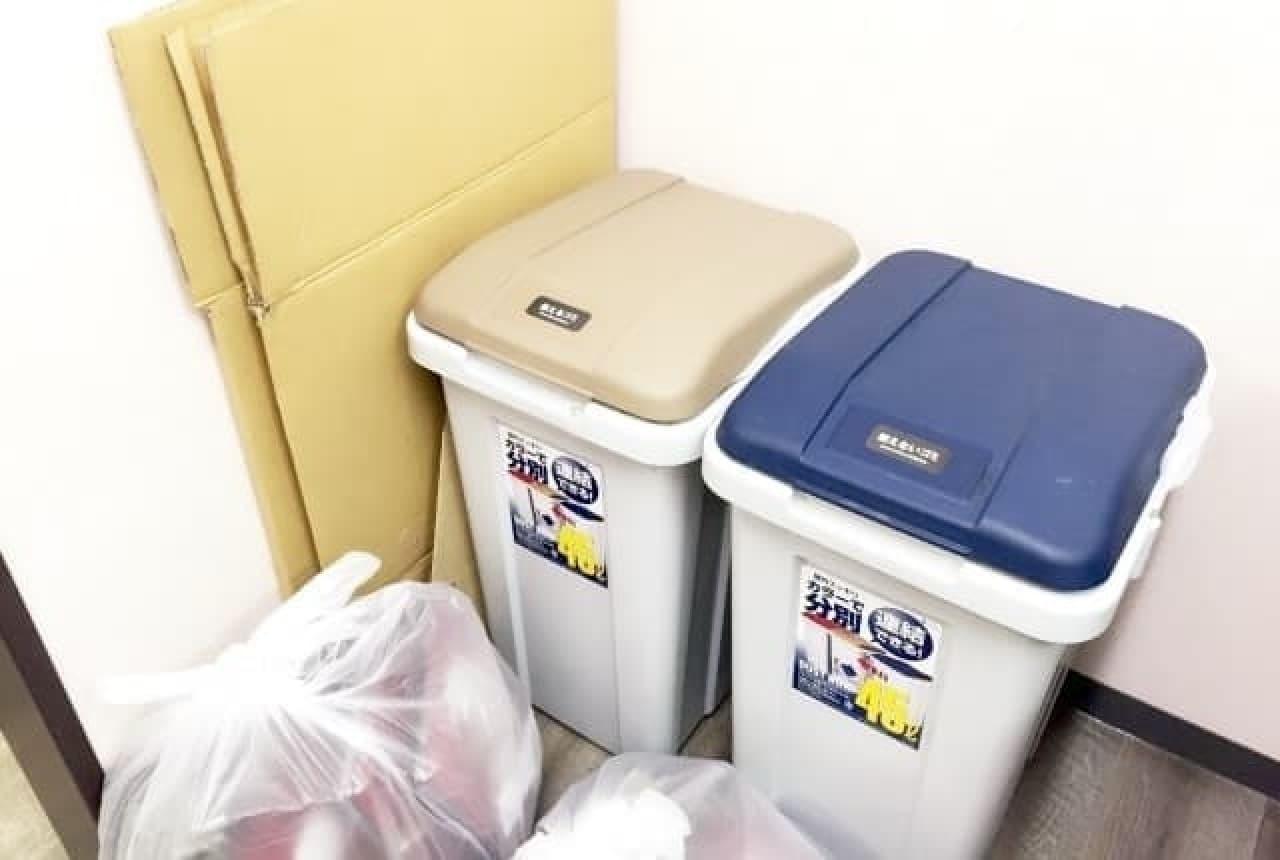 ゴミ捨て場の画像