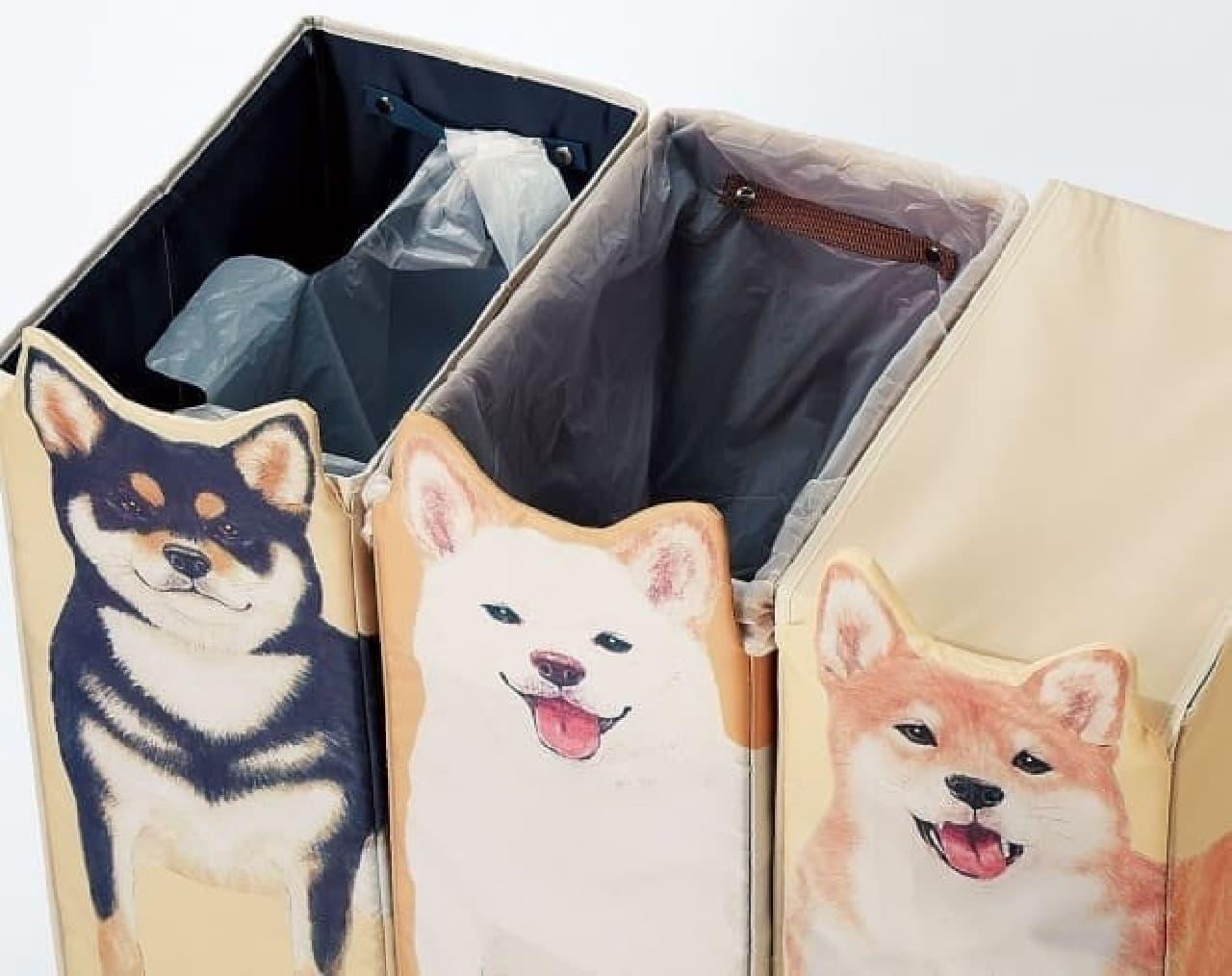 「かしこい柴犬収納ボックス」、フェリシモYOU+MORE!から