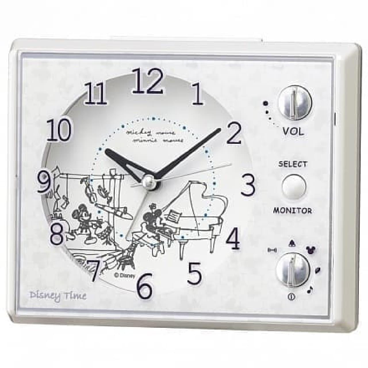 セイコークロックの目ざまし時計「FD478W」