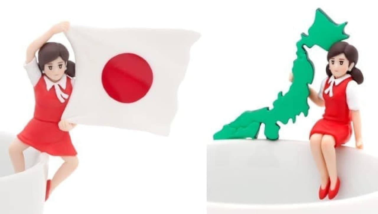 コップのフチ子 JAPAN