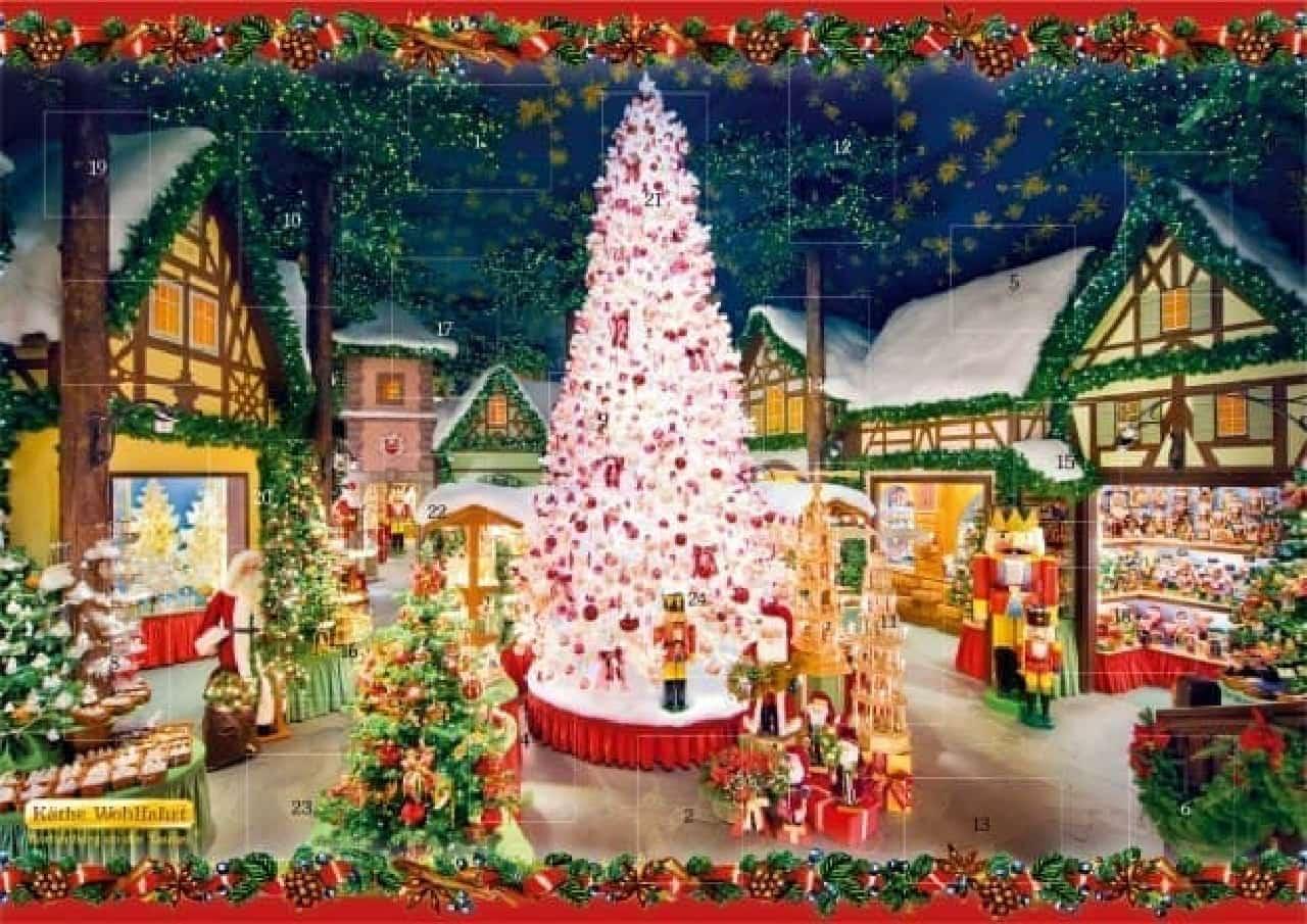 六本木ヒルズ クリスマスマーケット2016