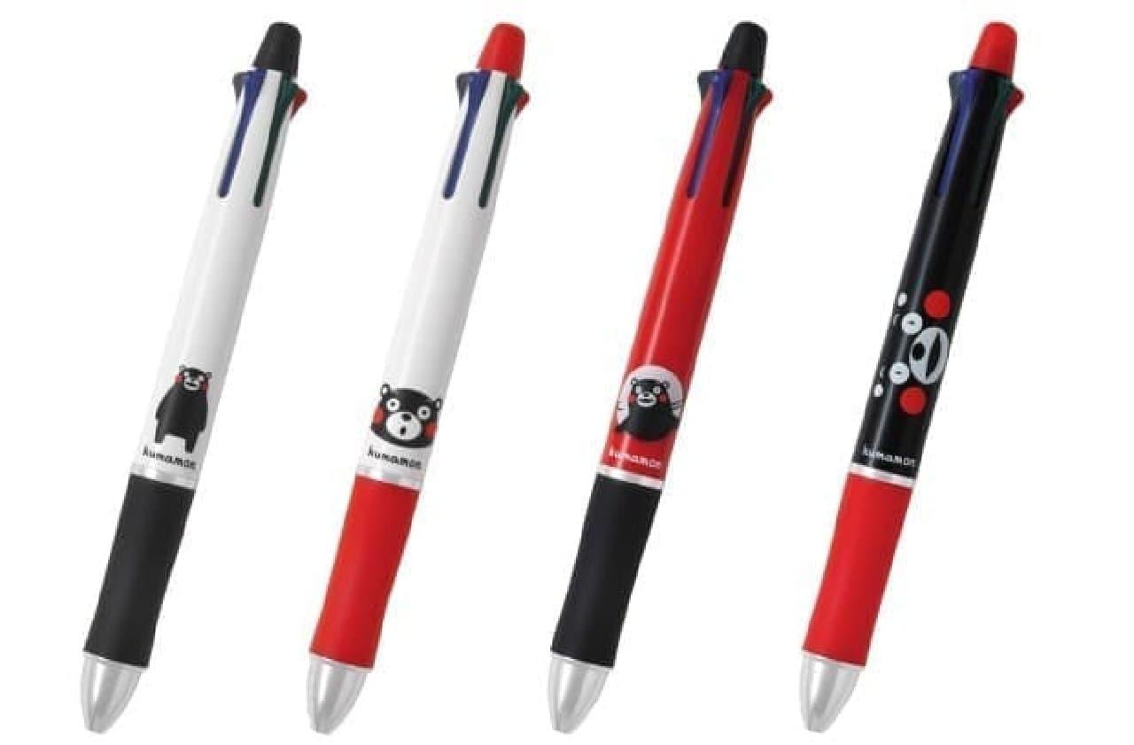 PILOT、くまモンデザインの筆記具