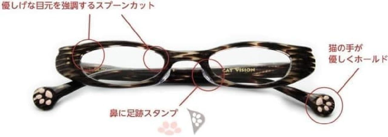 ネコ好きのためのアイウェア「CAT VISION(キャットビジョン)」