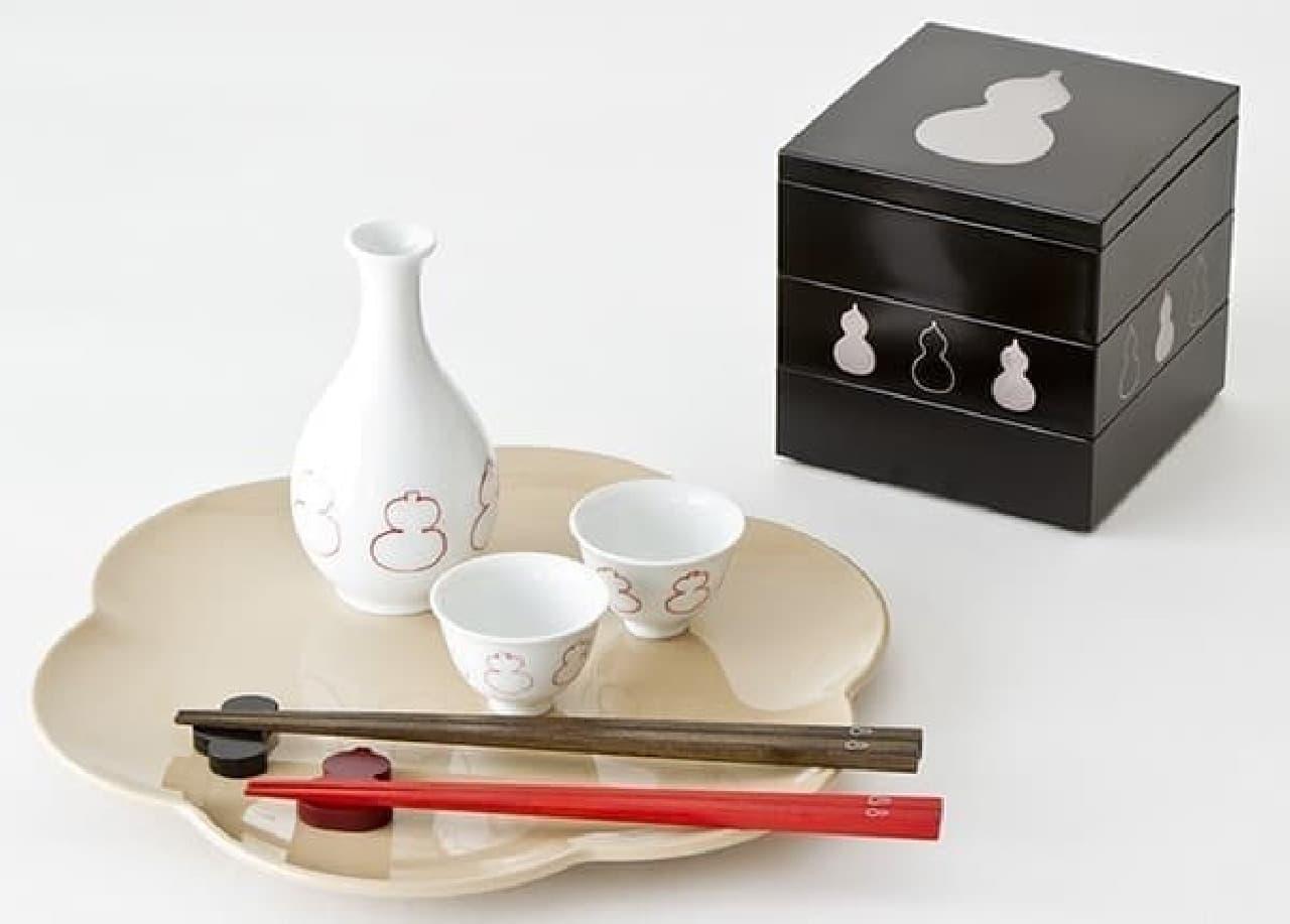 栗原はるみプロデュース『share with Kurihara harumi』から新年のテーブルウェア