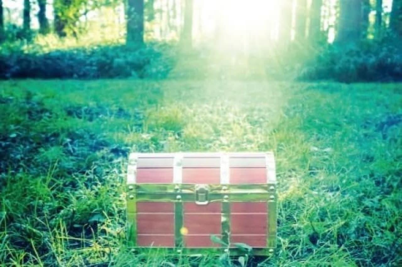 ヴィレヴァン「勇者の宝箱ティッシュボックス」