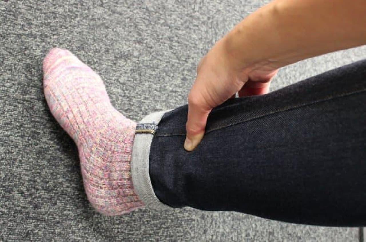 脚のむくみを解消するツボ