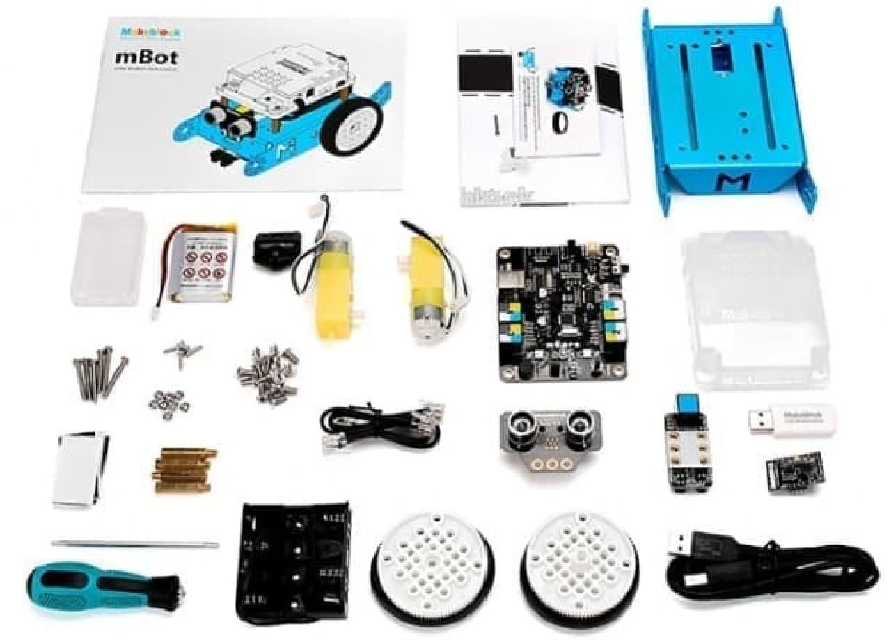 子ども向けプログラミング教育ロボットキット「Makeblock mBot」