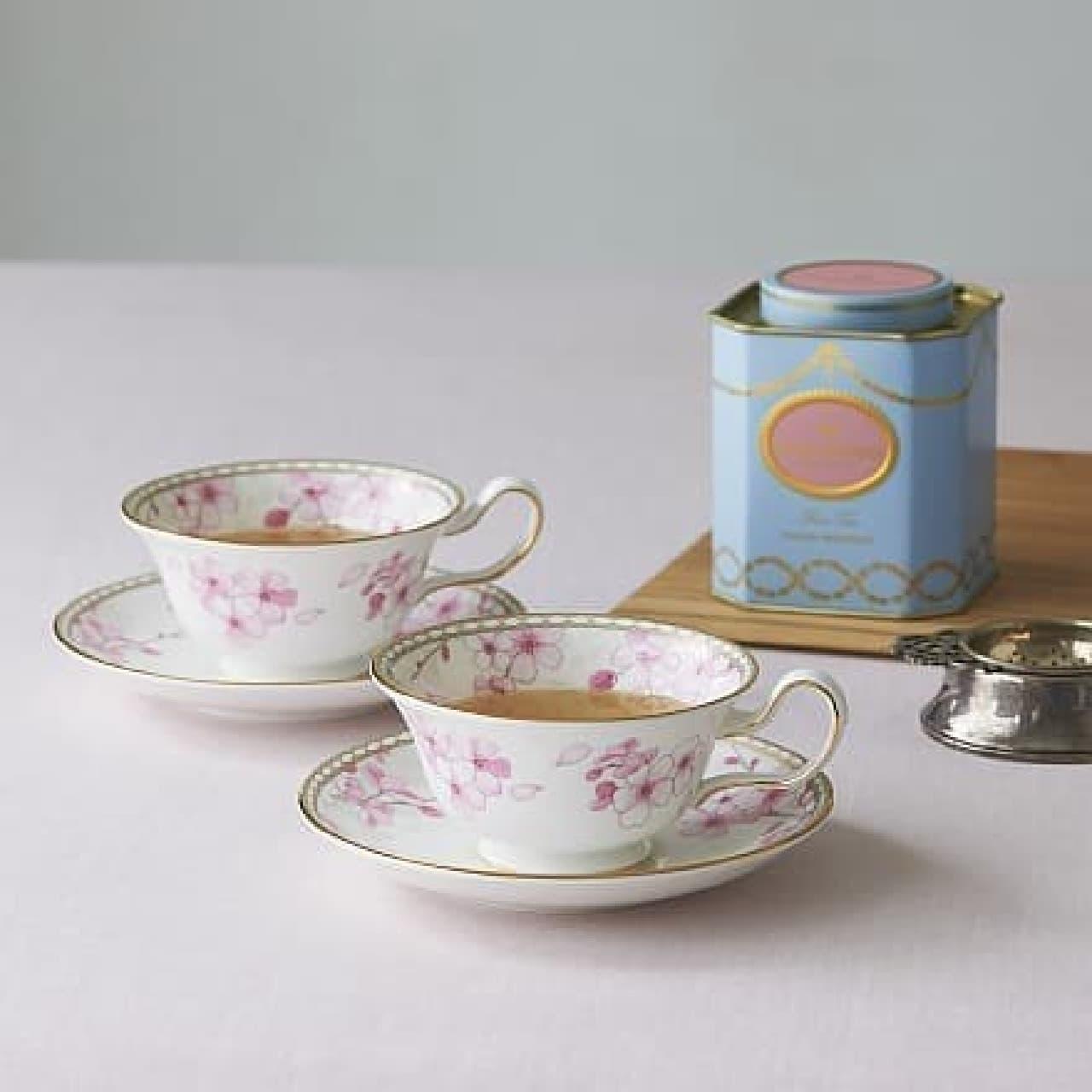 ウェッジウッド「春茶セット」