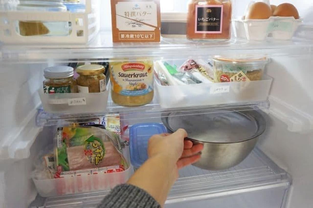 冷蔵庫を整理するポイント