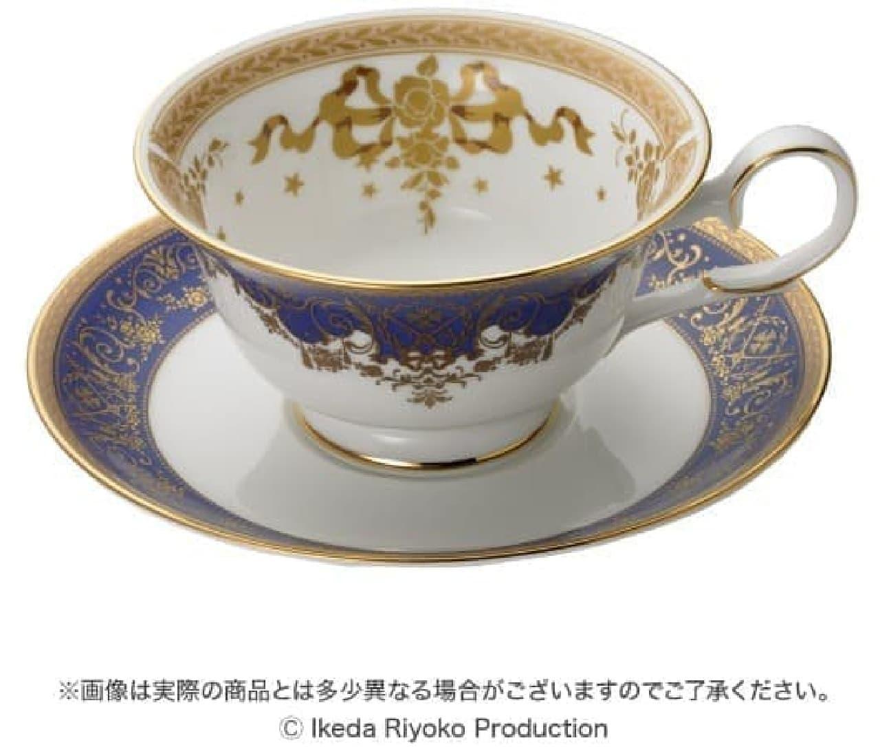 ベルサイユのばら×ノリタケオスカル&アンドレWedding Tea Cup & Saucer Set