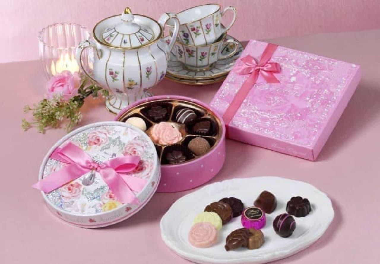 メリーチョコレート「グレイシャス」