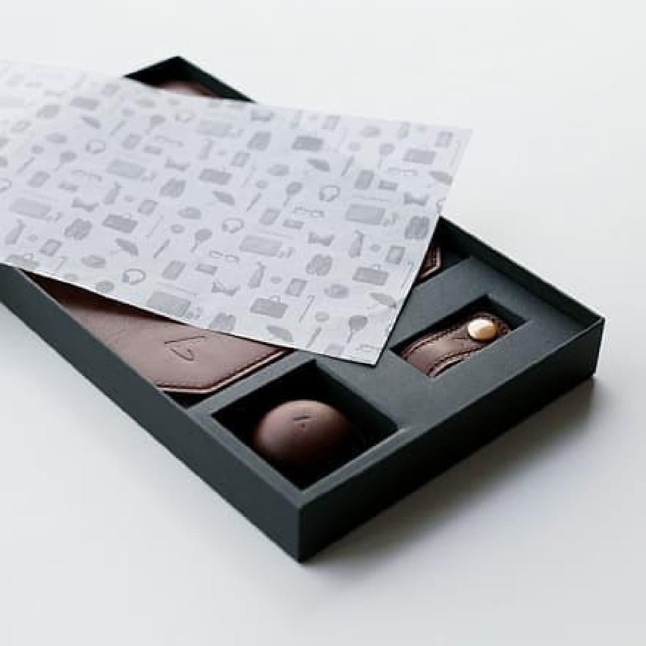 土屋鞄製造所「チョコレザートBOX」