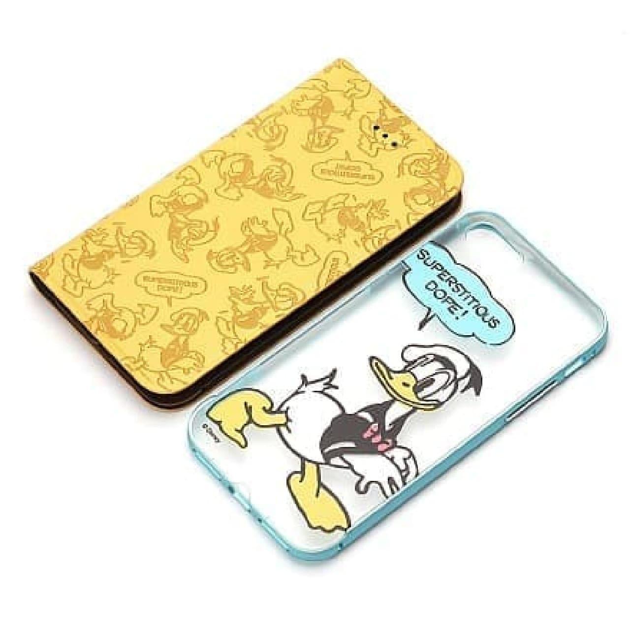 iPhone 7用 2WAY COVER/ドナルドダック