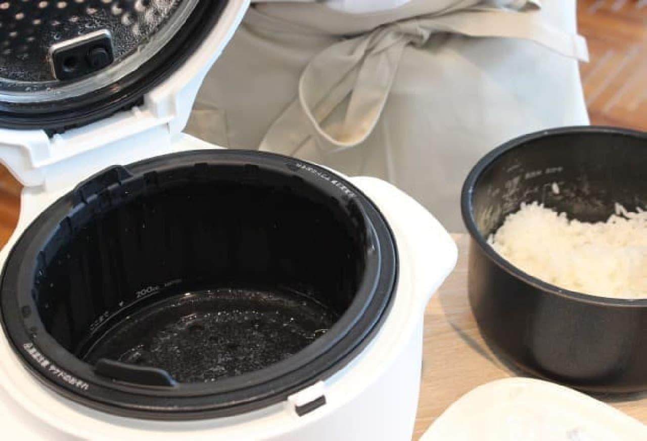 バルミューダ炊飯器「BALMUDA The Gohan」