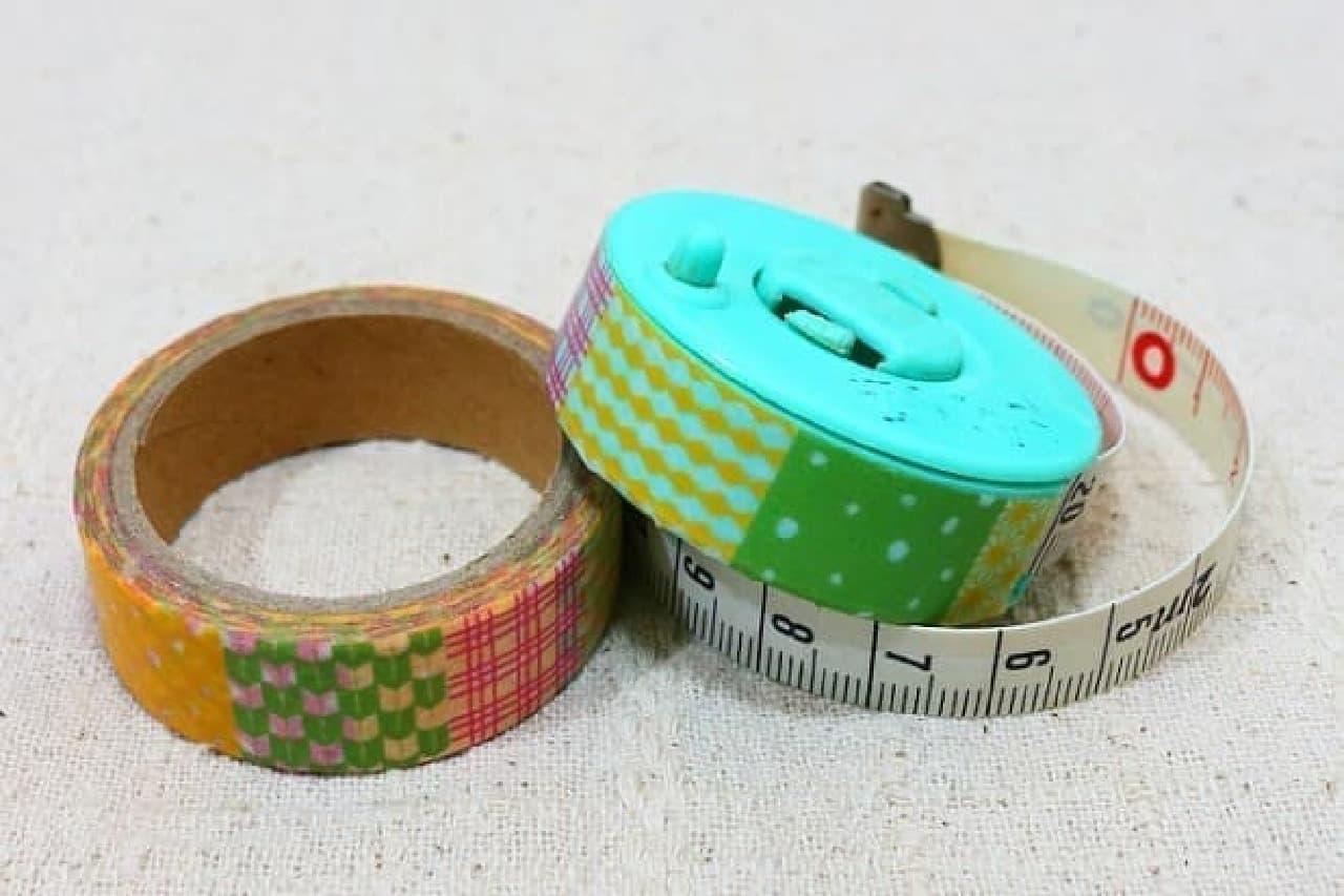 マスキングテープのデコレーション