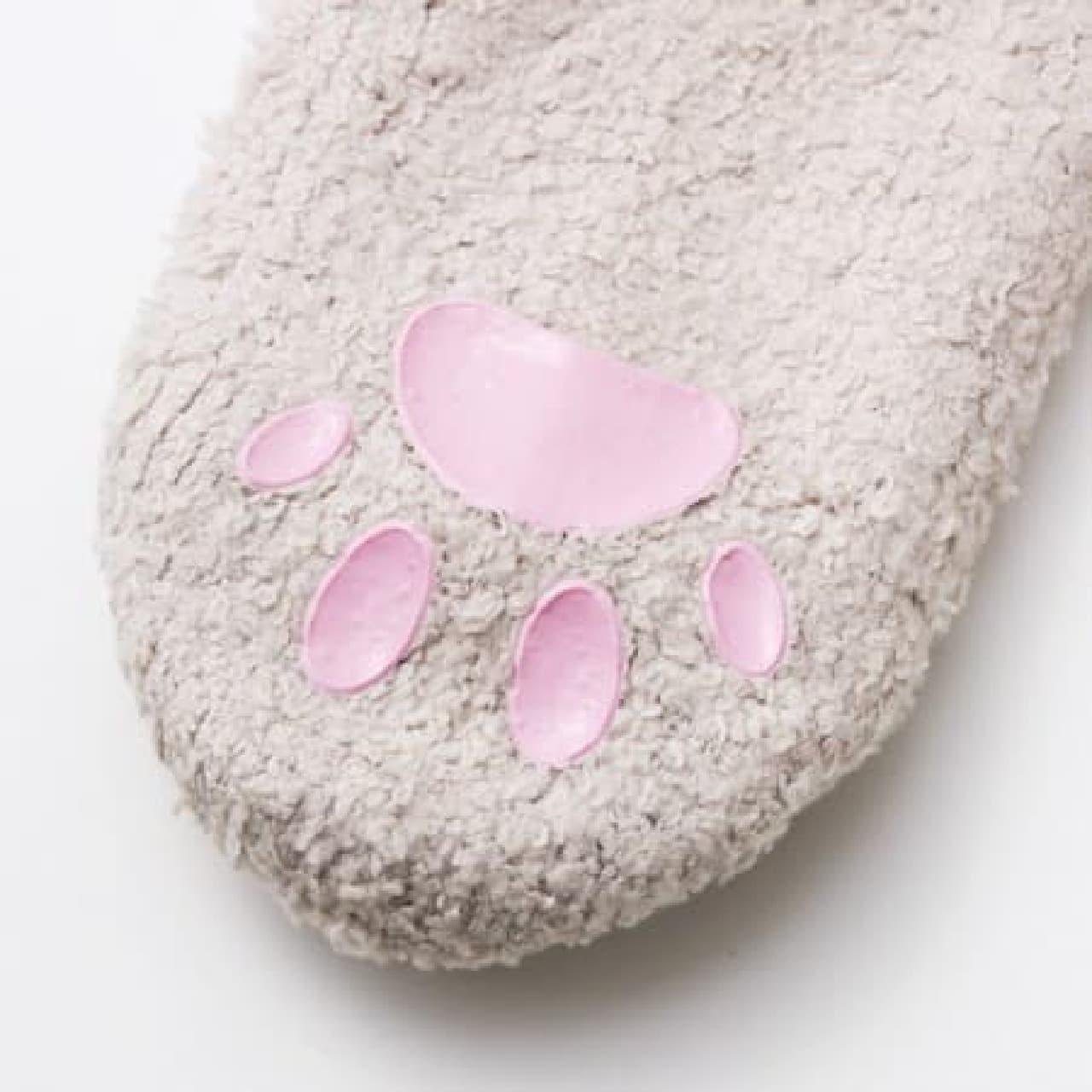 フェリシモ猫部 猫足もふもふルームソックス