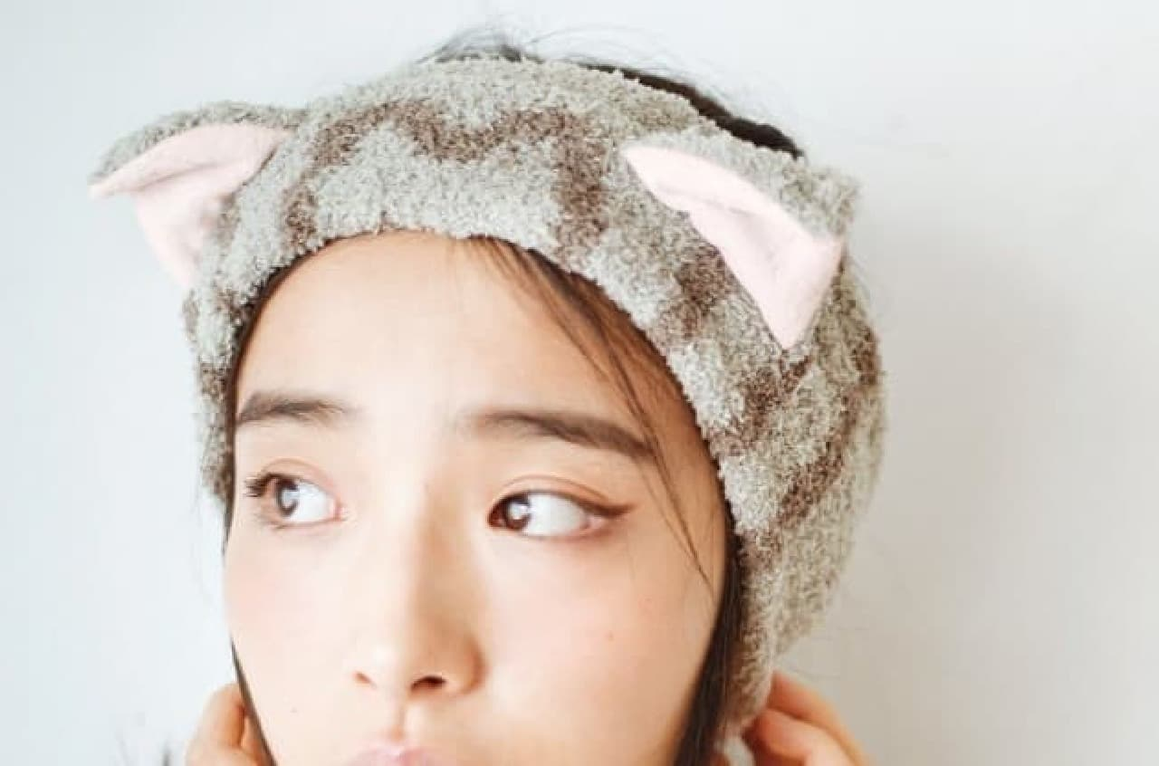 フェリシモ猫部 猫耳もふもふヘアターバン
