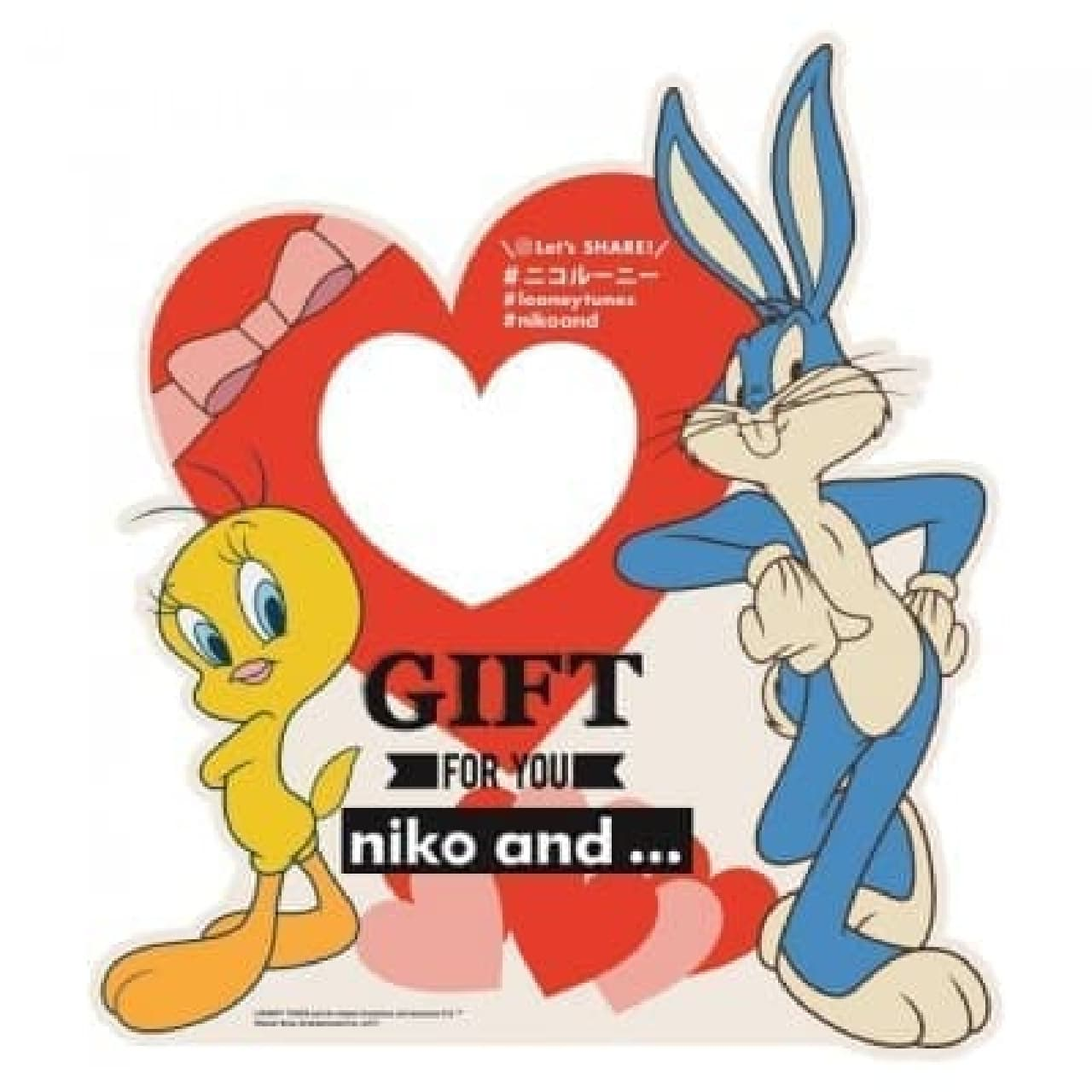 「niko and ...」×「ルーニー・テューンズ」コラボ雑貨