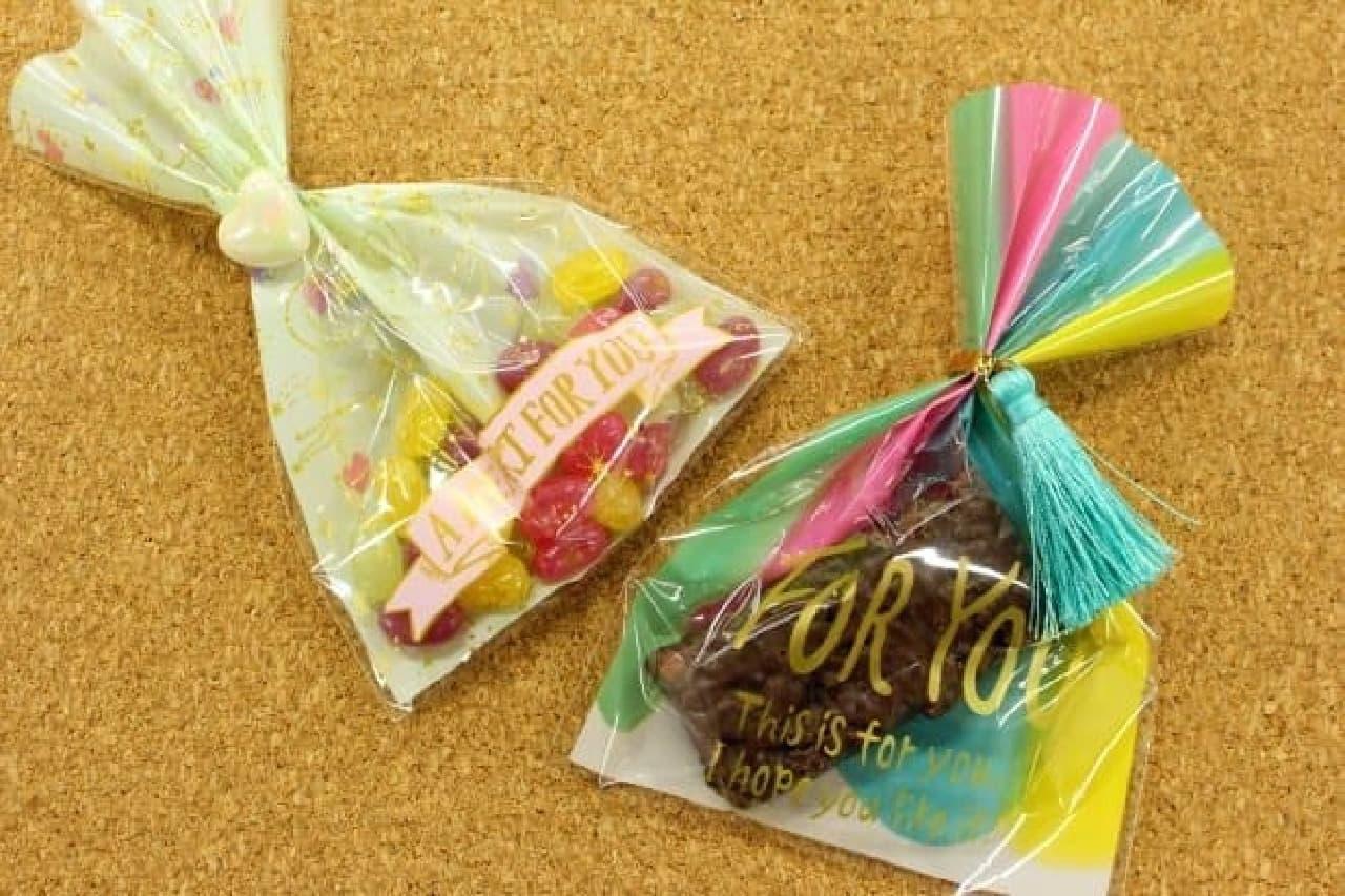 100円ショップ「キャンドゥ」のバレンタイン