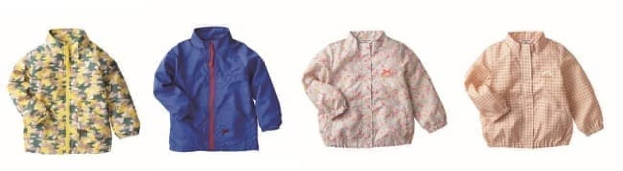 赤ちゃん本舗「シンプルフリー 花粉対策ジャケット」