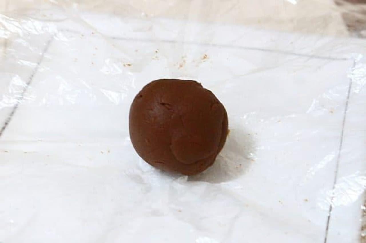 スライス生チョコレートで作るトリュフ